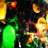 Futuro abstrato da cópia da arte da parede Fotografia de Stock