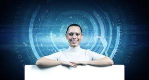 Futuro a alta tecnologia Immagini Stock Libere da Diritti