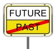 Futuro-após Foto de Stock Royalty Free