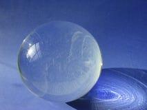 Futuro blu fotografia stock