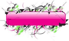 Futuro cor-de-rosa Fotos de Stock