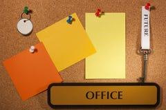 Futuro de la oficina Imágenes de archivo libres de regalías