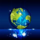 Futuro de la tecnología del mundo Imagen de archivo libre de regalías