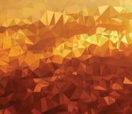 Futuro del mondo di struttura del fondo nuovo della geometria moderna del triangolo illustrazione di stock