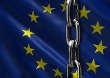 Futuro dell'Unione Europea royalty illustrazione gratis