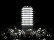 Futuro delle lampadine Immagini Stock Libere da Diritti