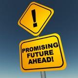 Futuro di promessa avanti illustrazione vettoriale