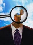 Futuro di psicologia Fotografia Stock Libera da Diritti