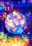 Futuro di tecnologia Fotografie Stock Libere da Diritti