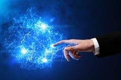 Futuro e conceito da inovação Fotografia de Stock