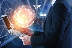 Futuro e conceito da inovação Imagens de Stock Royalty Free
