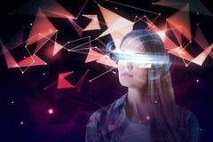Futuro e conceito do Cyberspace imagens de stock