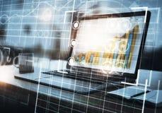 Futuro e concetto di tecnologia immagine stock libera da diritti