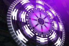 Futuro e textura da inovação Fotografia de Stock Royalty Free