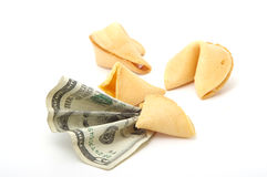 Futuro financeiro Fotografia de Stock