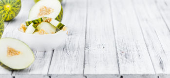 Futuro Melons selective focus Stock Image