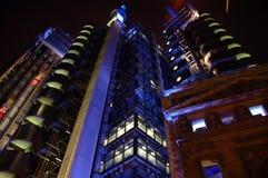 Futuros de néon Fotografia de Stock Royalty Free