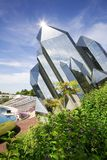 Futuroscope quarz building in Poitiers, France royalty free stock image