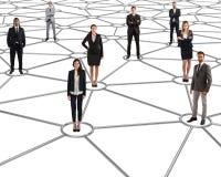Futurs réseaux sociaux image libre de droits