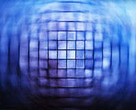 Futurstic grid swirl abstraction Royalty Free Stock Photos