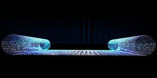 futurystyczna ślimacznica Obraz Royalty Free