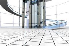 Futurystyczna Architektura Zdjęcie Stock