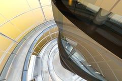 Futurystyczna architektura Zdjęcia Royalty Free