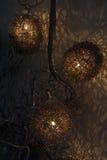 Futurystyczna Organicznie lampa Robić drut obraz royalty free