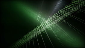 Futurystyczna technologii eco światła animacja, pętla HD 1080p ilustracja wektor