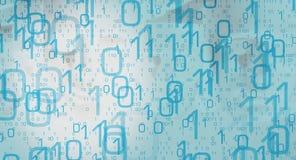 Futurystyczna technologii tła cyber ochrona Obrazy Stock