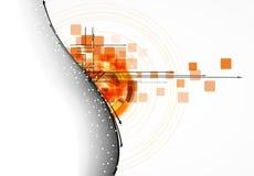 Futurystycznego interneta informatyki biznesu wysoki b Obrazy Royalty Free