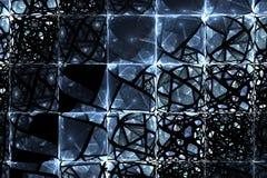 futurystyczny abstrakcjonistyczny tło Obrazy Royalty Free