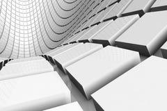 futurystyczny abstrakcjonistyczny tło ilustracji