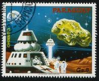 Futurystyczny astronautyczny pojazd Zdjęcie Stock