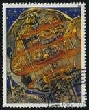 Futurystyczny astronautyczny pojazd Fotografia Stock