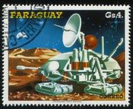 Futurystyczny astronautyczny pojazd Zdjęcie Royalty Free