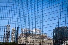 futurystyczny budynku biznes Obrazy Royalty Free