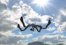 Futurystyczny dron z czułka pojęciem ilustracja 3 d royalty ilustracja