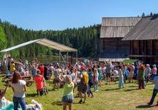 Futurystyczny festiwalu ` Kamwa ` Zdjęcia Stock