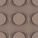 Futurystyczny geometryczny art deco nowożytny wzór ilustracja wektor