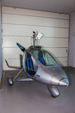 Futurystyczny helikopter Obrazy Royalty Free