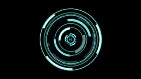 Futurystyczny hud zdjęcie wideo
