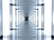 futurystyczny korytarza ilustracji