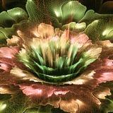 Futurystyczny kwiat Zdjęcie Royalty Free