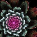 Futurystyczny kwiat Zdjęcia Stock