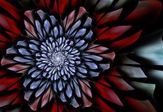 Futurystyczny kwiat Zdjęcie Stock