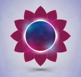 Futurystyczny kwiat royalty ilustracja