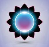 Futurystyczny kwiat ilustracji