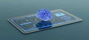 Futurystyczny medyczny app Obraz Stock