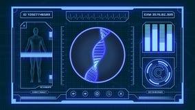 Futurystyczny medyczny app Zdjęcia Stock